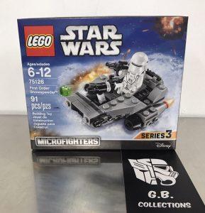 LEGO Star Wars ~75126~First Order SNOWSPEEDER~SERIES 3~New in Box